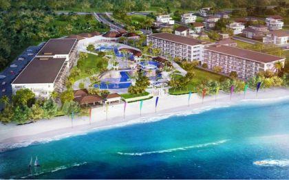 Artist perspective of Playa Beach Resort and Condominiums