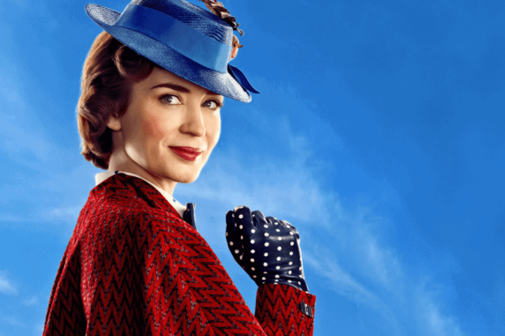 Emily Blunt in Mary Poppins Retunrs